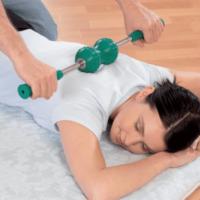 Independent Nikken consultant Marilia Blackburn - rollout massage